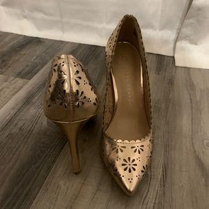 Lauren Conrad Rose Gold Heels
